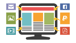 logo constructor de sitios web