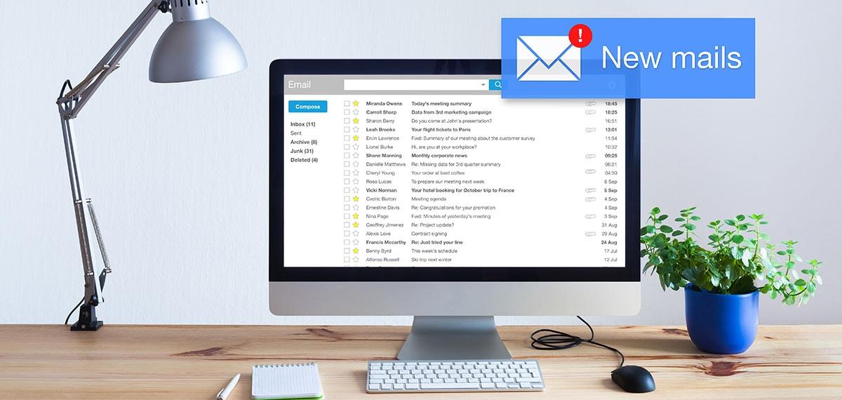 Los cinco mejores Clientes de correo electrónico