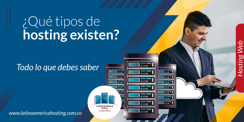 que tipos de hosting existen con servidores