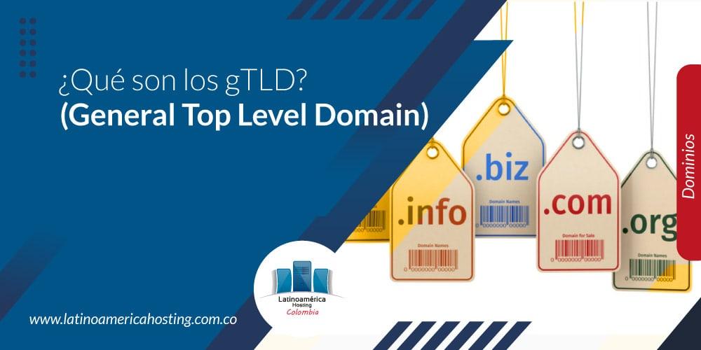 ¿Qué son los gTLD? (General Top Level Domain)